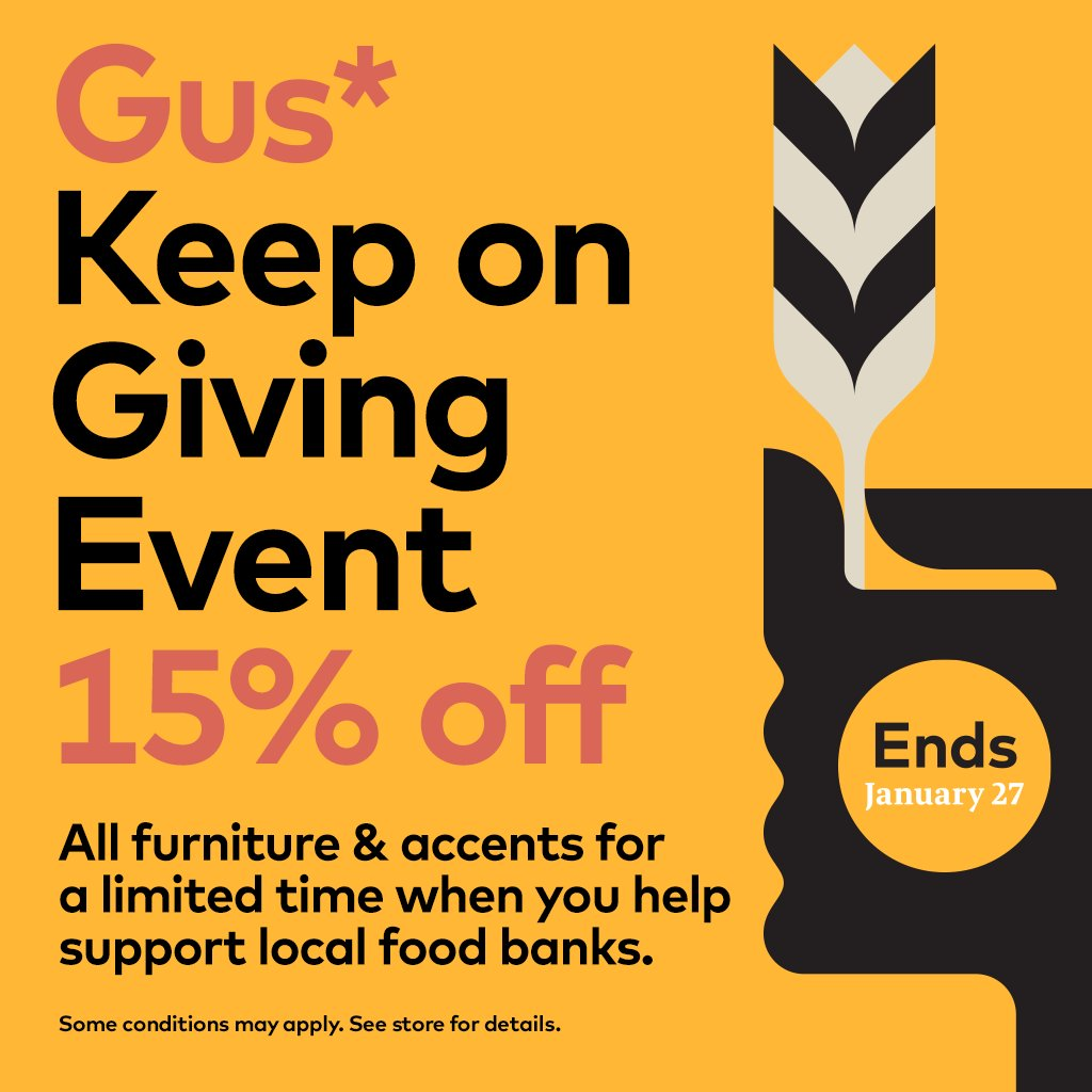 Get 15 off all gus modern until jan 27th visit your local gus retailer today for more details http bit ly gusstores pic twitter com weztfaorfo