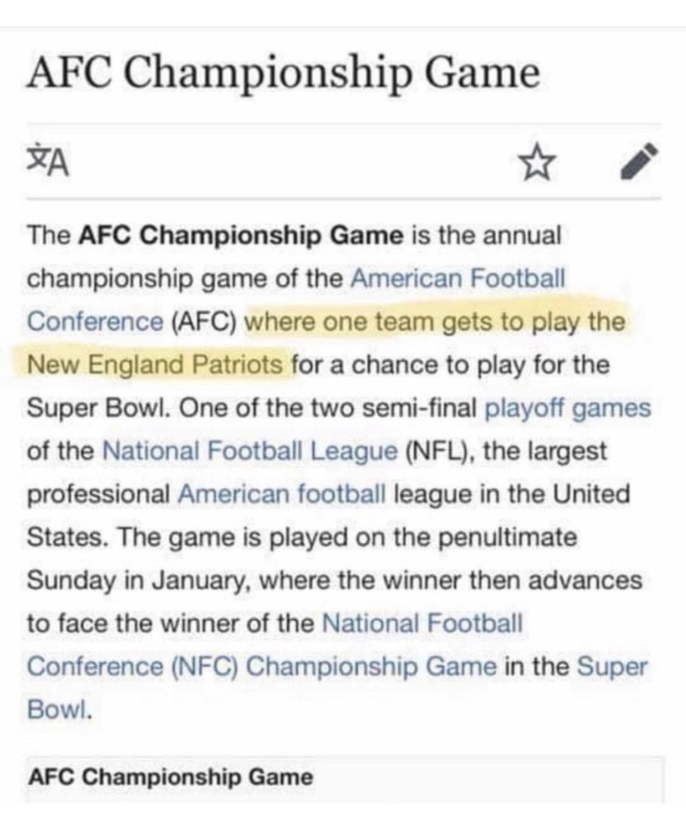 Well played, Wikipedia.