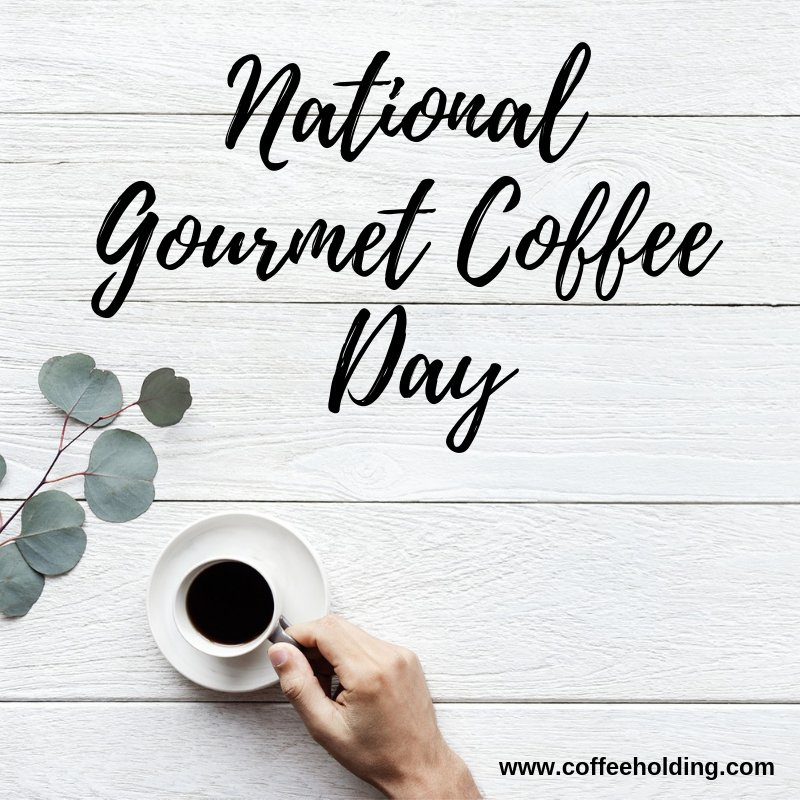 No matter how you enjoy your #coffee🍮, make sure you have an extra cup (or two) in celebration of #NationalGourmetCoffeeDay. Stay #caffeinated everyone. #specialtycoffee #coffeelovers #GourmetCoffeeDay #espresso #latte #americano #pourover #chemex