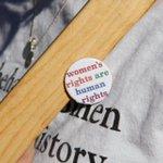 Image for the Tweet beginning: #Frauenrechte sind #Menschenrechte!  Heute: