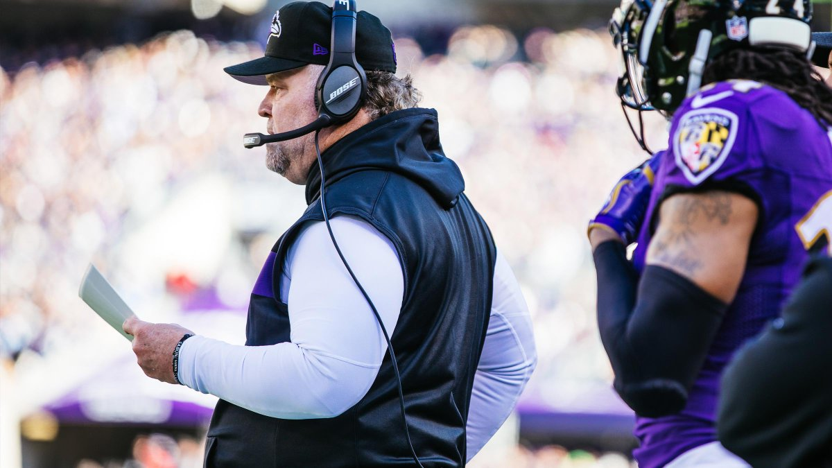 Wink Martindale staying in Baltimore can help the Ravens defense stay on top.  &quot;With offensive-minded coaches in vogue for head coaching jobs, DC Martindale staying with the Ravens gives them an edge for next season.&quot;  :  http:// rvns.co/9bz  &nbsp;  <br>http://pic.twitter.com/9aWXKEVWYP