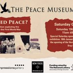 Image for the Tweet beginning: Tomorrow, 19th Jan, at @PeaceMuseumUK,
