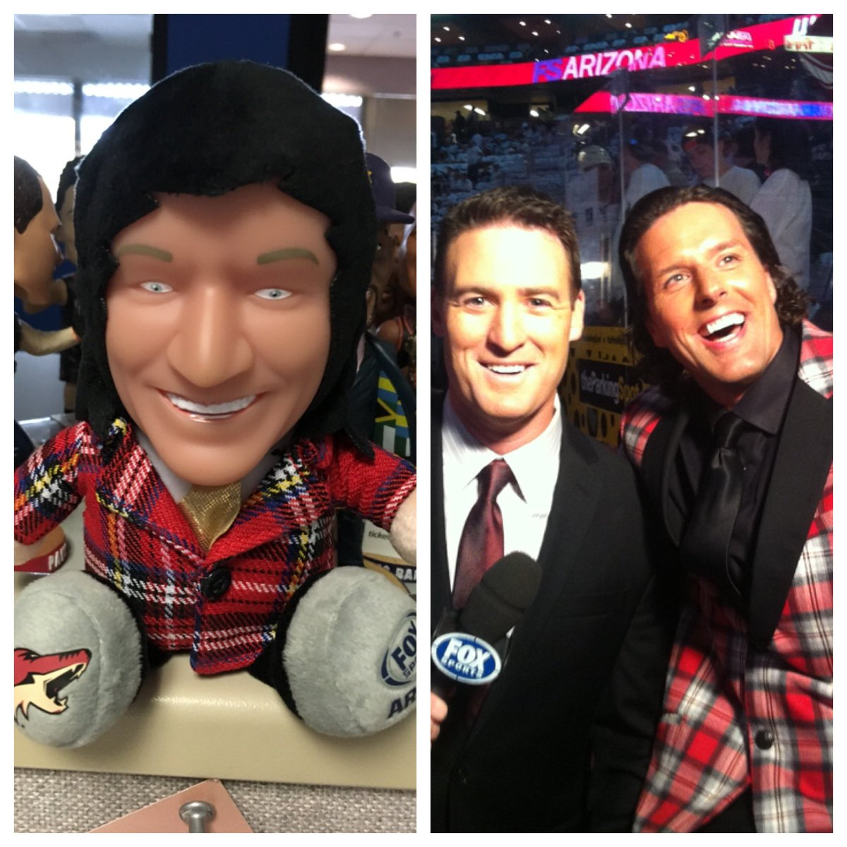 Where have I seen that jacket before? #Coyotes fans receive a @TysonNash doll at tonight's game vs #Penguins. https://t.co/PPRYlWOQG2