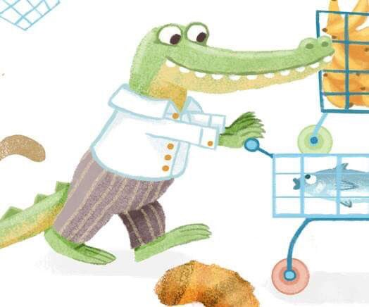 Happy snappy #Friday  Here's my first #colour_collective of the year   #crocodile #kidlitart <br>http://pic.twitter.com/zUIPR3Ykw3