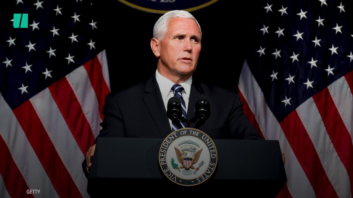 """The vice president said criticism of his wife's decision to work at a school that bans LGBTQ staff and teachers was """"offensive"""" to him."""