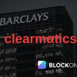 Image for the Tweet beginning: Clearmatics & Barclays Working on