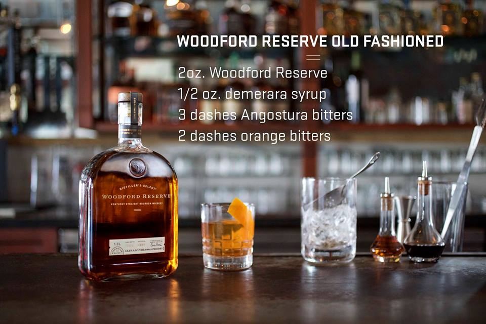 A twist of orange, a spoonful of sugar, a dash of bitters, and the best of bourbons, Woodford Reserve. #woodfordreserve
