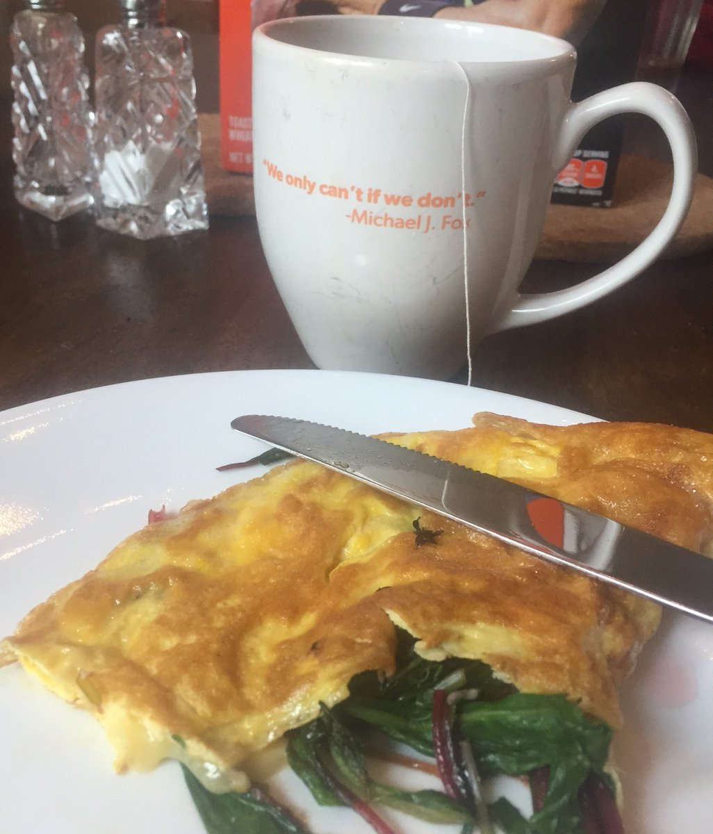 Finally, breakfast.