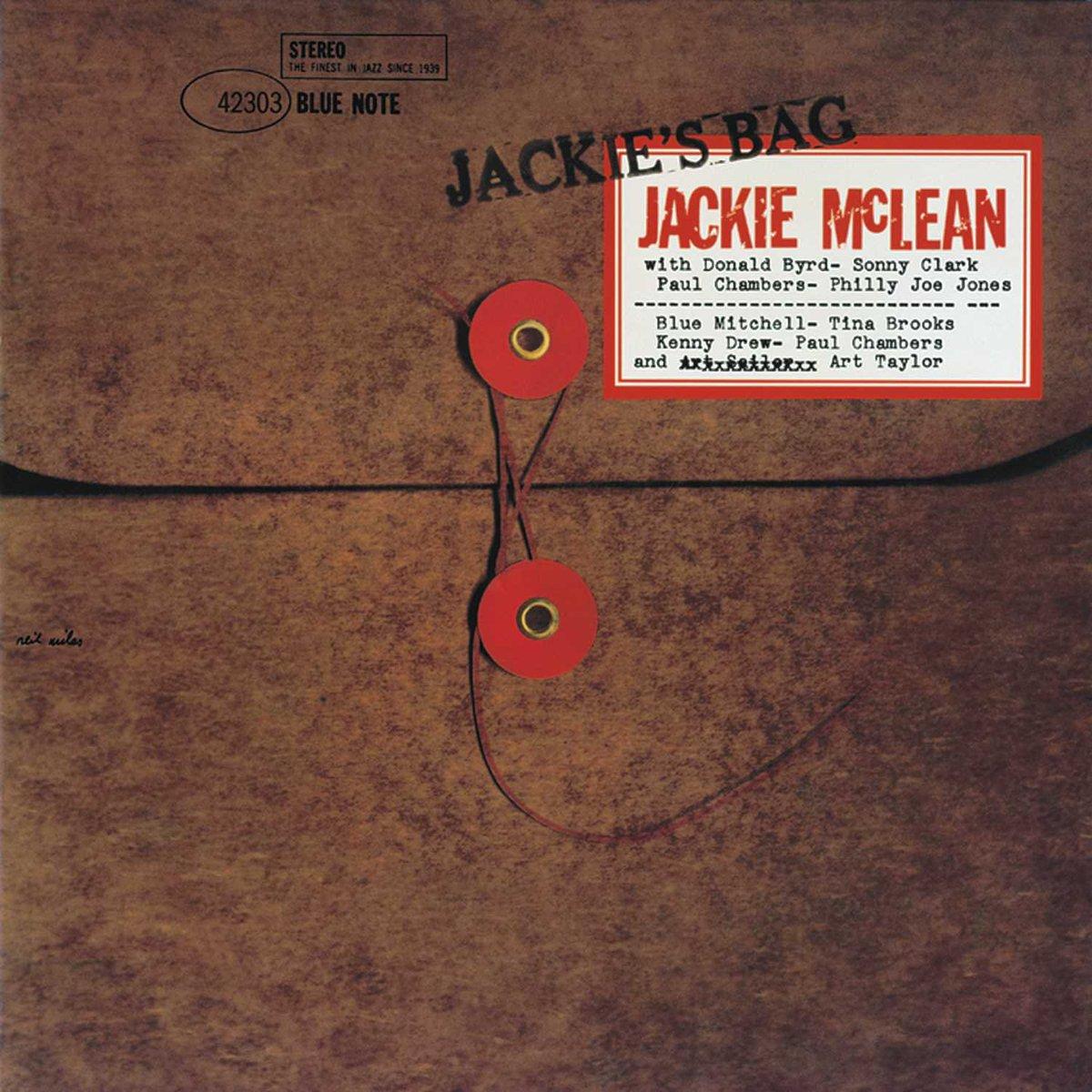 60 years ago #OTD alto saxophonist #JackieMcLean was in Rudy Van Gelder's Hackensack studio recording tracks that would be released on his album 'Jackie's Bag' w/ Donald Byrd (trumpet), Sonny Clark (piano), Paul Chambers (bass) & Philly Joe Jones (drums)  https://t.co/3PrgvJ7GMt
