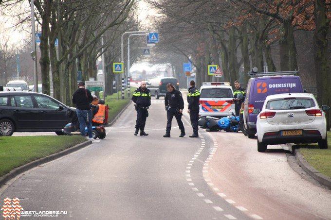 Motorrijder licht gewond na ongeluk https://t.co/bIkeaTvV2R https://t.co/LHywOQ6kou