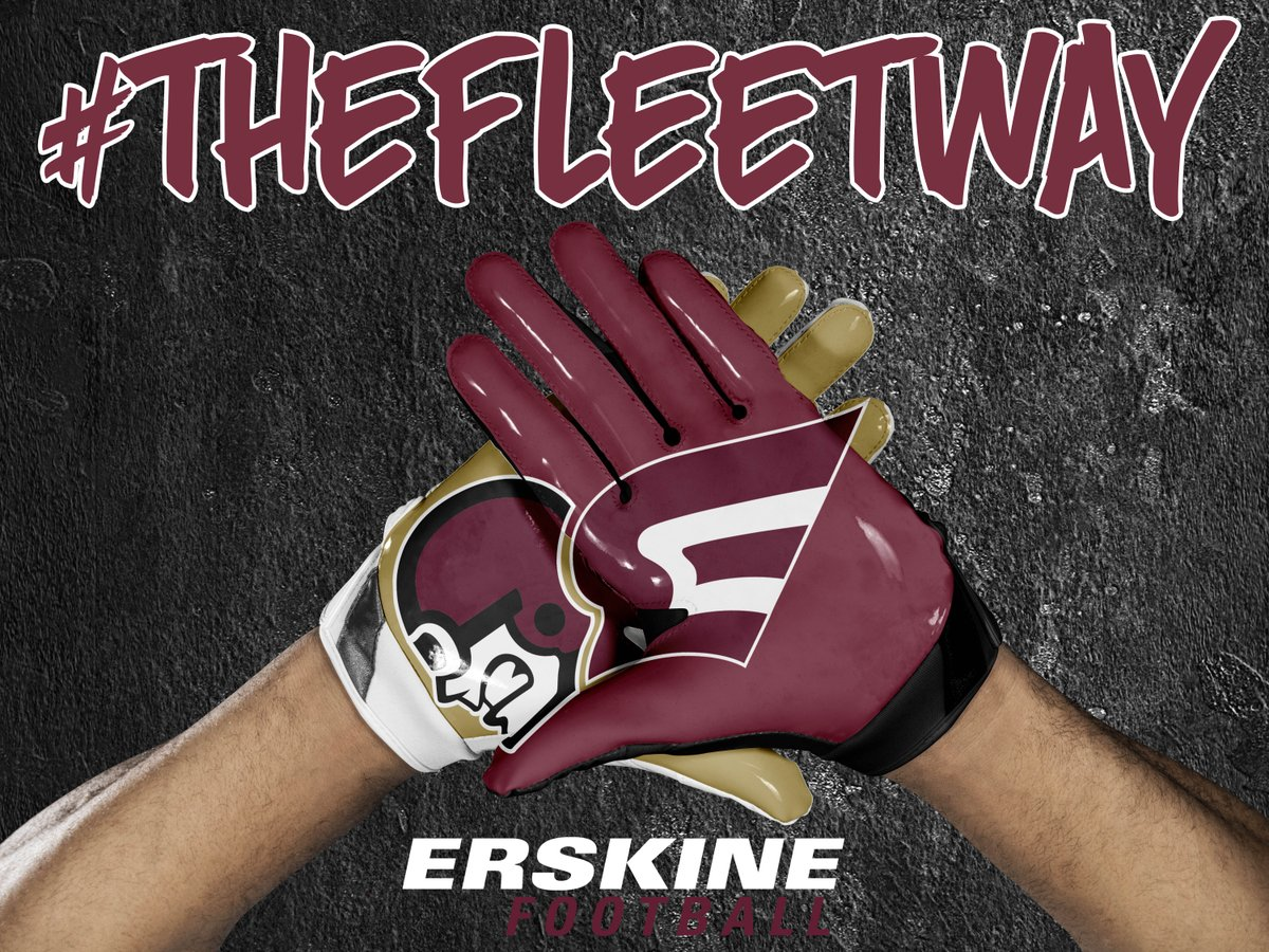 There is still time to register for one of the two Erskine College football visit days, on Monday, January 21st and Friday, January 25th. Go to  http://www. erskine.edu/football  &nbsp;   to sign up! These days are for 2019 graduates only. #TheFleetWay #FirstClass<br>http://pic.twitter.com/SozaEqKrwD