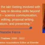 Image for the Tweet beginning: A researcher's job extends beyond