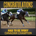 Image for the Tweet beginning: Congratulations! #ajaxdowns #rightinyourbackyard #durham #ontarioracing