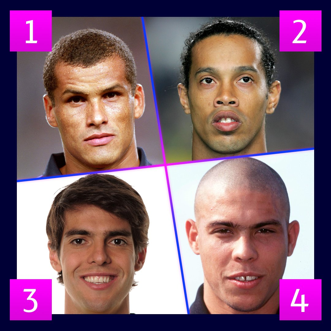 🇧🇷 Four Brazilian greats. Pick one!  #UCL #FlashbackFriday