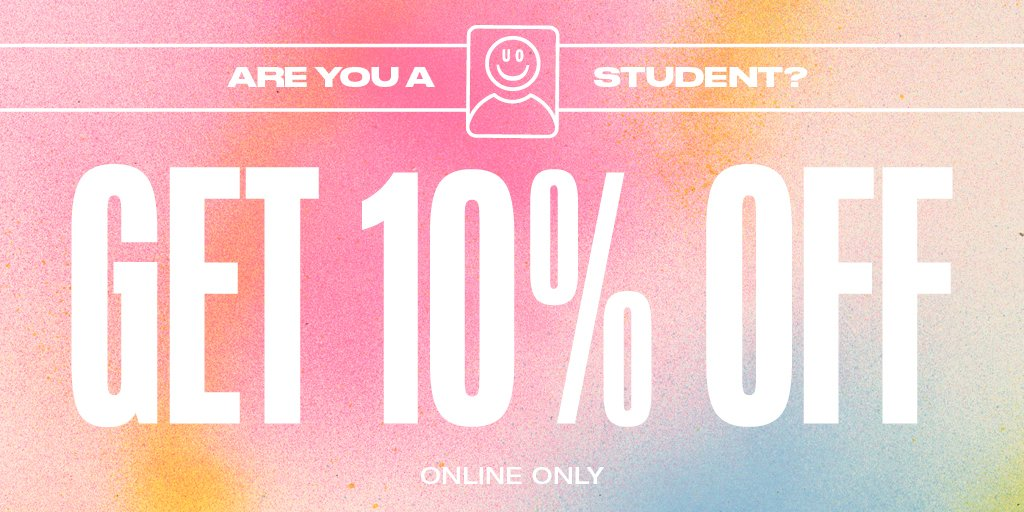 Urban Outfitters On Twitter Hey Students Have You Heard The Good