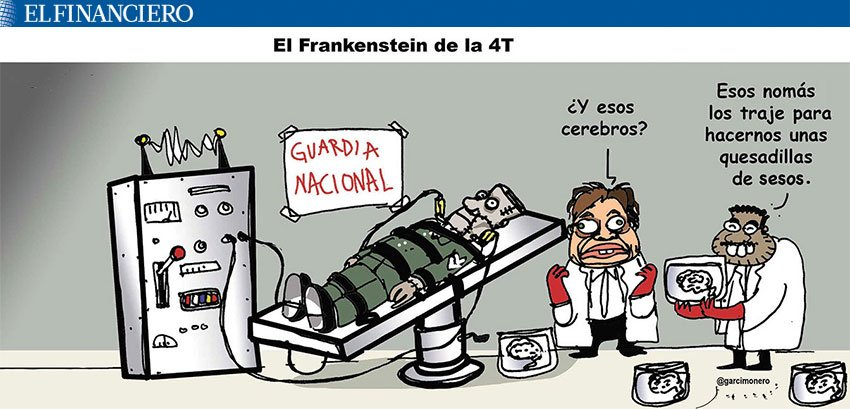 #MonerosFinancieros: El Frankenstein de la 4T, de @Garcimonero https://t.co/pt7c4kLC6m