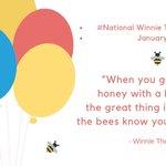 #NationalWinnieThePoohDay Twitter Photo