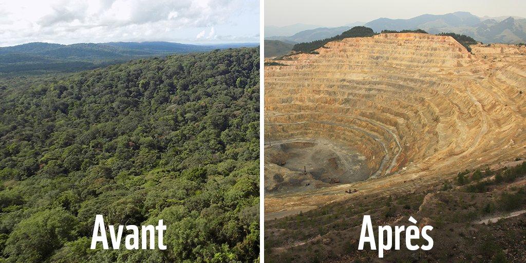 ⛔ Si le projet #MontagnedOr se réalisait, voici ce qui pourrait arriver en plein cœur de la forêt guyanaise... Luttons contre ce projet destructeur ! https://t.co/3fLwfGPG8o #10yearschallenge #10yearchallenge #StopMontagnedOr