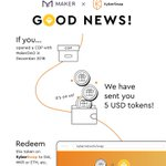Image for the Tweet beginning: To encourage DApp ecosystem, @KyberSwap