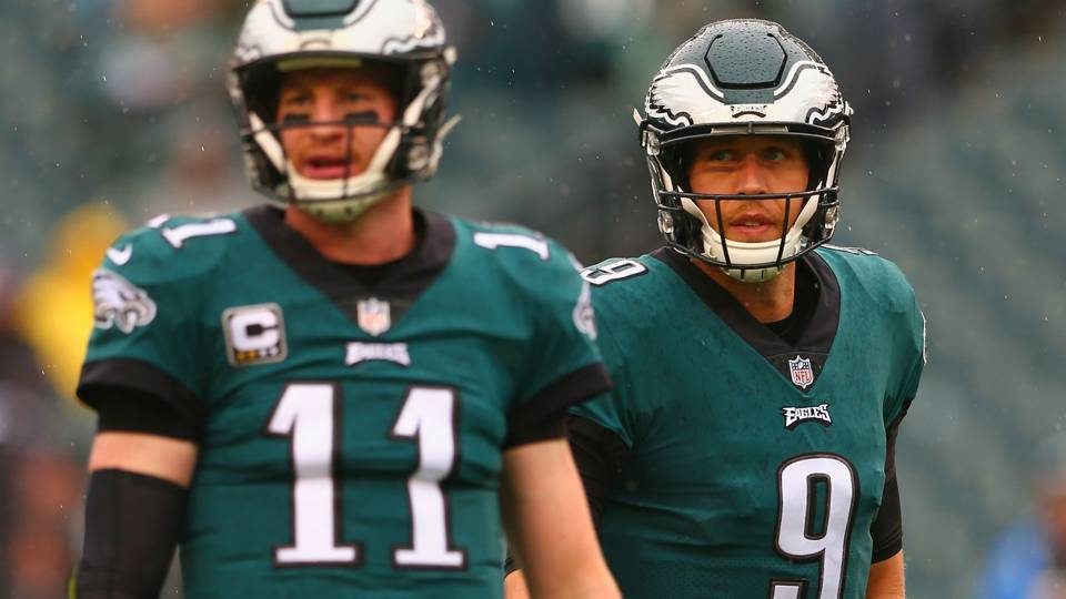 The Eagles still have use for Nick Foles even with Carson Wentz as their first-choice QB.  Foles is capable of being a full-time starting QB outside of Philadelphia.   It would take effort from both parties to get the signal-caller back in Philly in 2019: https://t.co/RlXuH8IKSt
