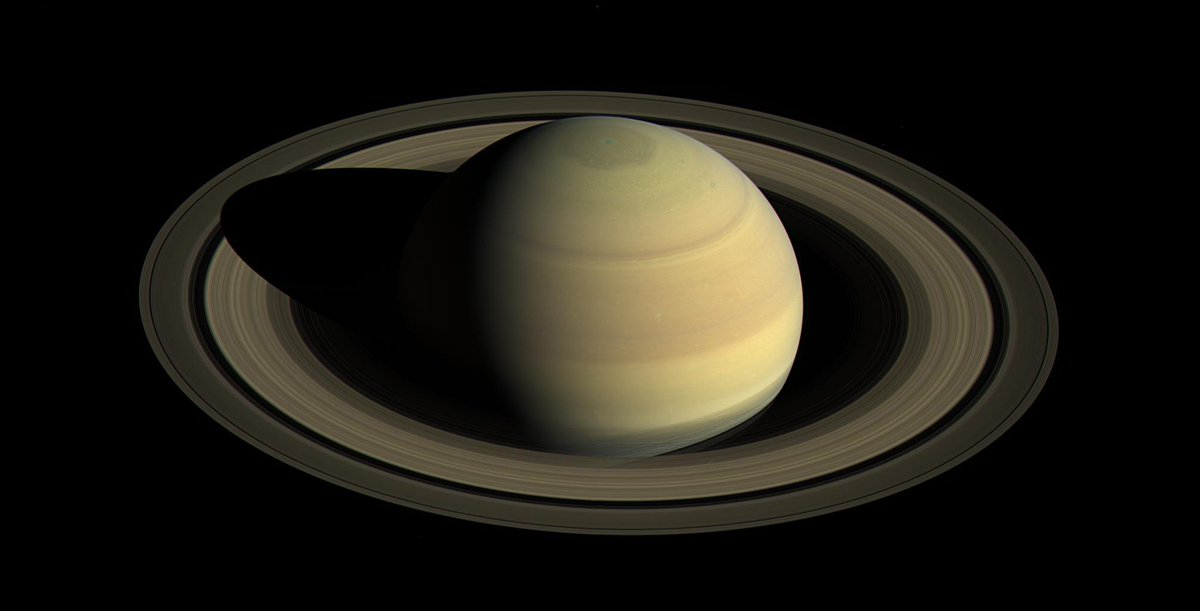 All in a day: using data from NASA's Cassini spacecraft, researchers believe they have finally solved a longstanding mystery, the length of a day on Saturn. https://t.co/HPWAiq8Anr