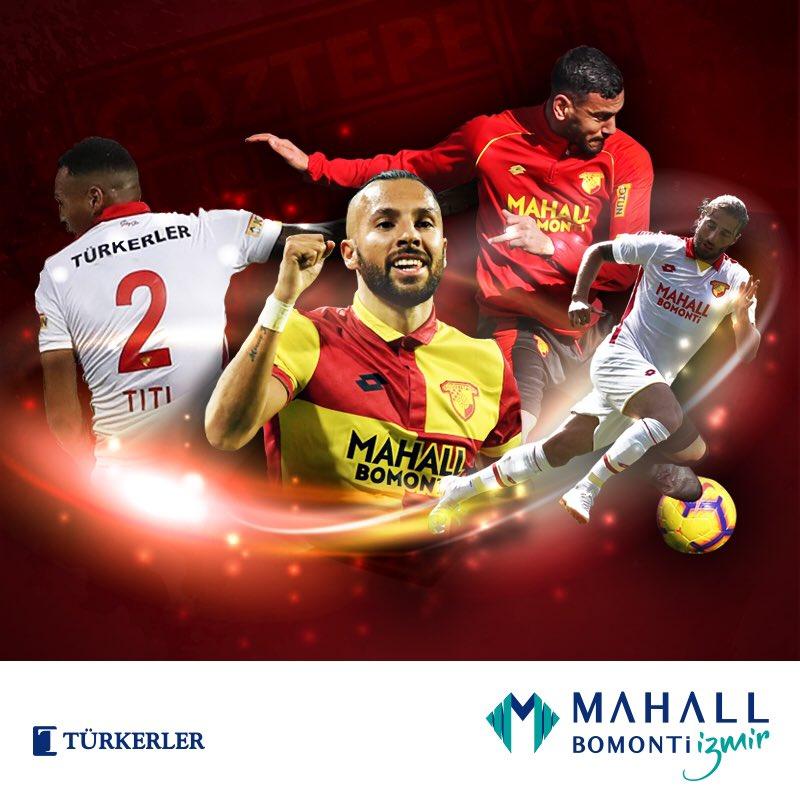 Ana Sponsorumuz Mahall Bomonti İzmir, sezonun ikinci yarısında Göztepe'mize başarılar diler🤜🤛