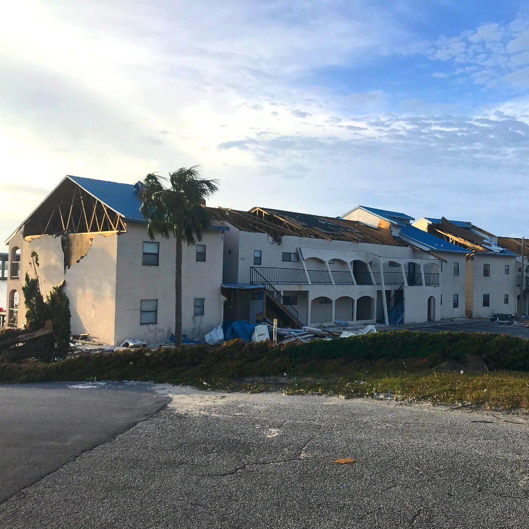 We&#39;re still helping those affected by #HurricaneMichael in #PanamaCity.  Photo taken by one of our #PublicAdjusters.   #Insuranceclaim #propertyloss #propertydamage #hurricane #water #mold #flood #hurricane #storm #wind<br>http://pic.twitter.com/e4DnmpUoPH