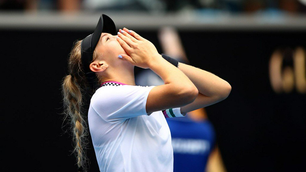 17-year-old from New Jersey wins at Australian Open https://t.co/bcgFRuJFCC