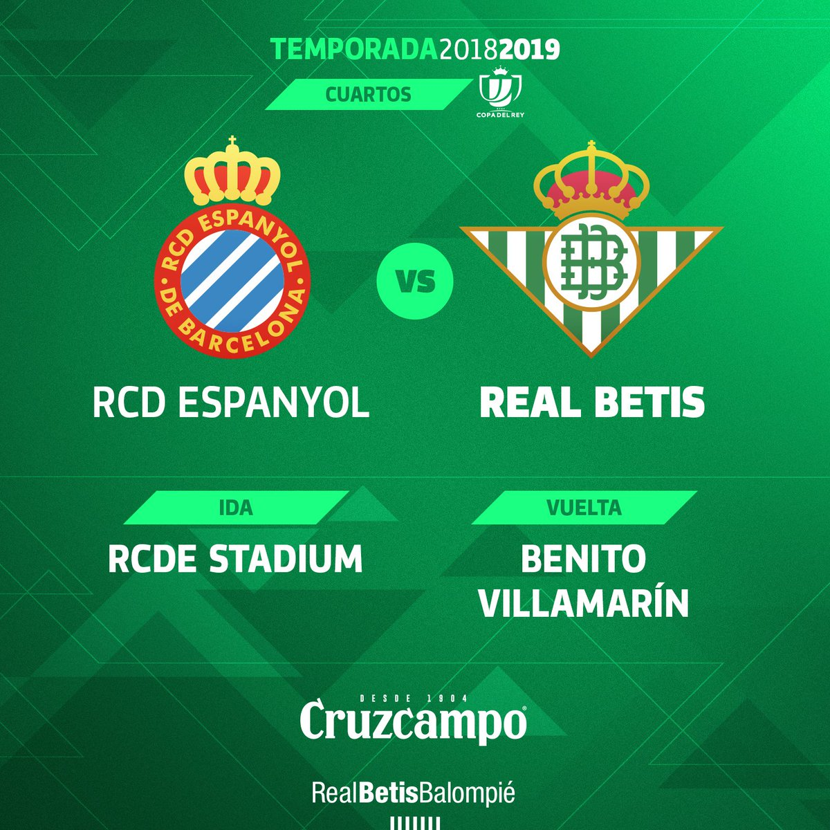 Real Betis Balompié's photo on #CopaDelRey