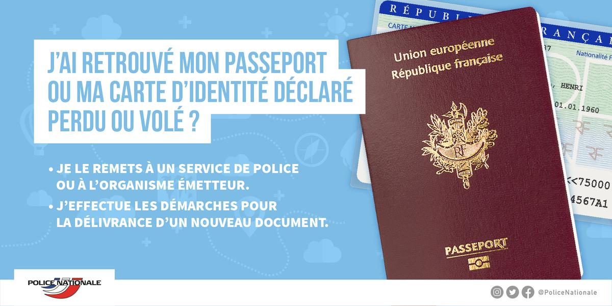 [RAPPEL] Vous avez retrouvé votre document d'identité que vous croyiez perdu ou volé ? Suivez nos conseils pour pouvoir voyager sereinement lors de vos prochaines vacances !
