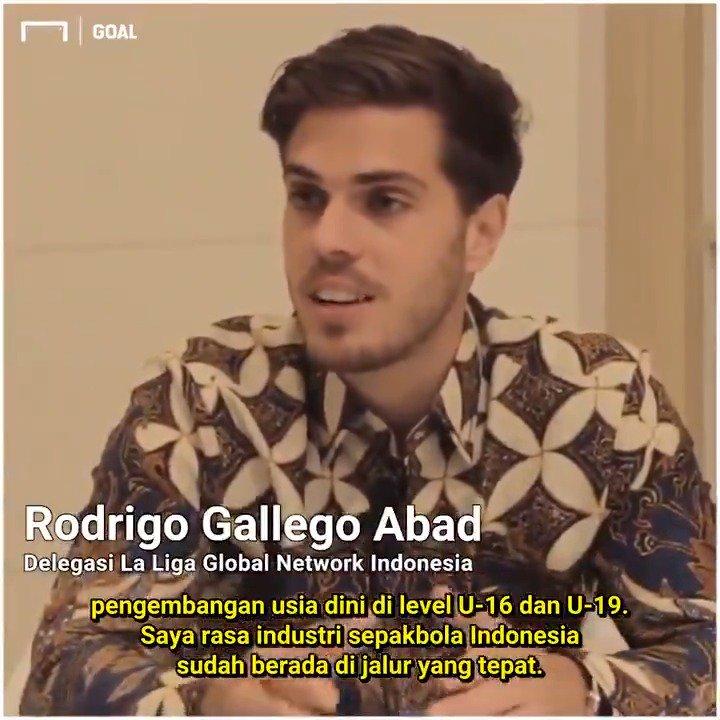 Goal bertemu dengan delegasi La Liga Rodrigo Gallega terkait program kerja sama yang dilakukan dengan PT LIB.  Sejumlah program disiapkan untuk membantu LIB dan mengembangkan sepakbola di Indonesia.   Tonton lengkap 👇 https://www.youtube.com/watch?v=Sr8N0FmYkRc…  #LaLiga #Liga1