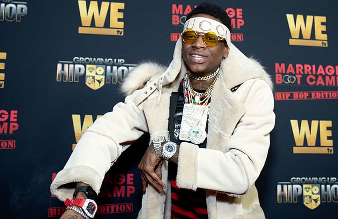 .@SouljaBoy says he loves Travis Scott...because 'he took Tyga's b*tch' 😬 https://t.co/tReTyLMTmf