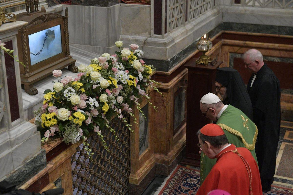 Αποτέλεσμα εικόνας για Basilica di San Paolo fuori dalle mura pregiera instagram