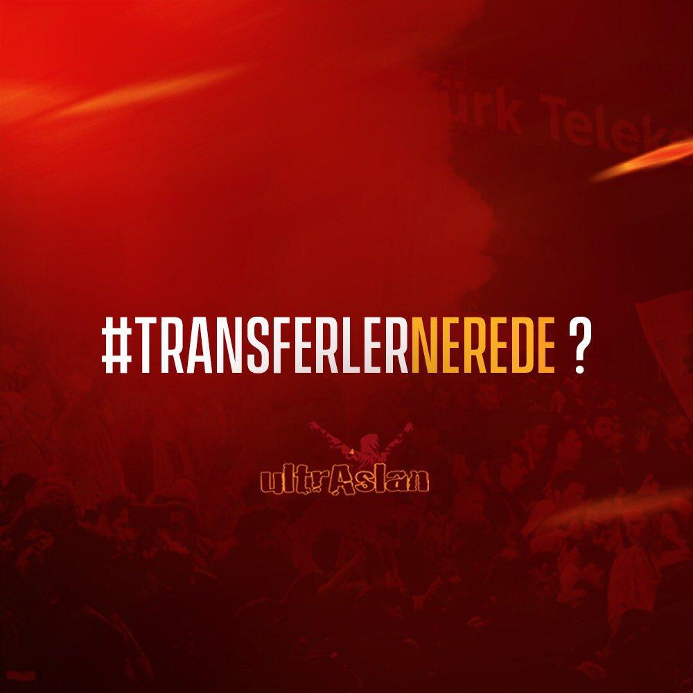 #TransferlerNerede ?