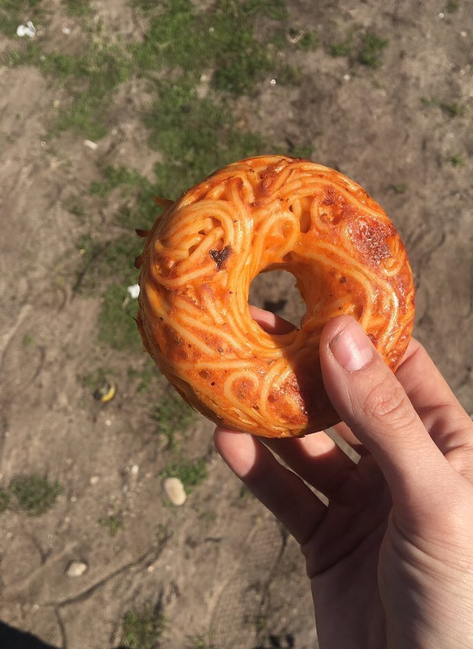 time to post the spaghetti donut again