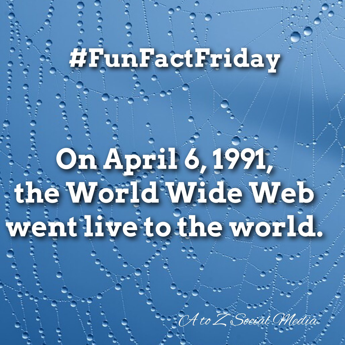 A to Z Social Media's photo on #FunFactFriday