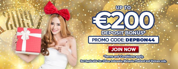 Get your bets ready! Be the first one to receive up to €200 from our DEPBON44 promo − check it out now! http://goo.gl/kpC9a1