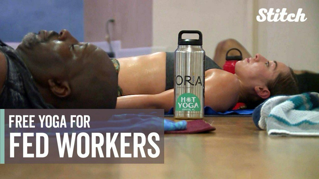 Yoga studio owner stretching generosity with free classes for federal workers during shutdown https://t.co/9YhE4XBi7j