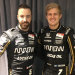 Welcome to the Arrow Schmidt Peterson Motorsports team, Marcus Ericsson! We look forward to the kicking off the 2019 IndyCar Series season with these two incredible drivers in March. See you @gpstpete.  #ArrowDriven @SPMIndyCar @hinchtown @Ericsson_Marcus #indycar