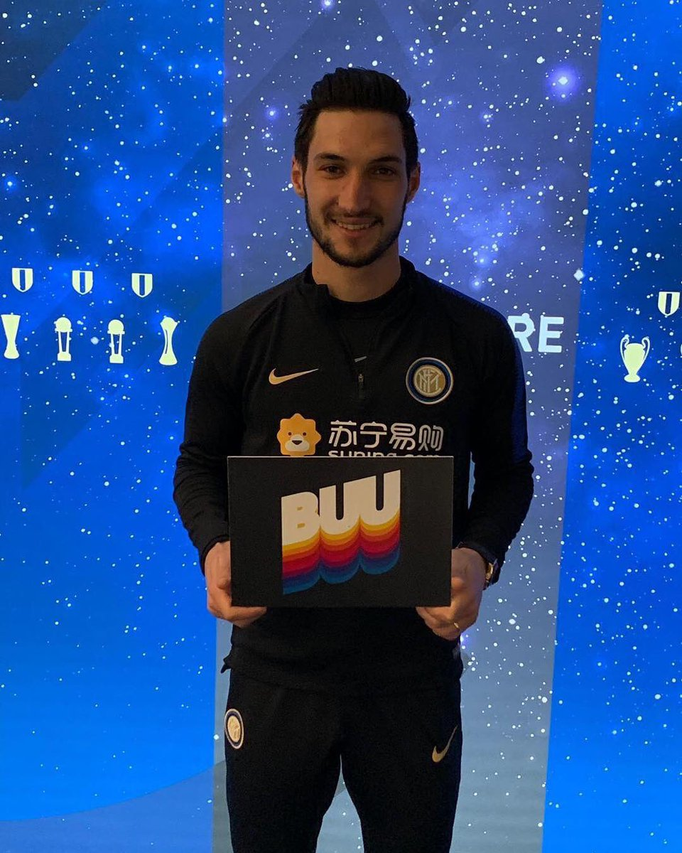 BUU becomes #BrothersUniversallyUnited  Let's make it a message of unity, rather than racism. #NoToDiscrimination @inter