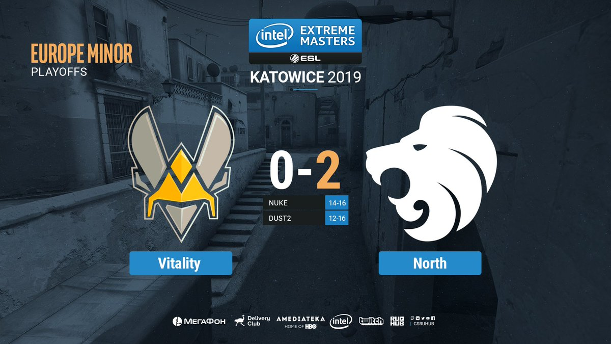 Team Vitality проиграли North.  #IEM #CSGO #RuHub https://t.co/YoKvA57J7S