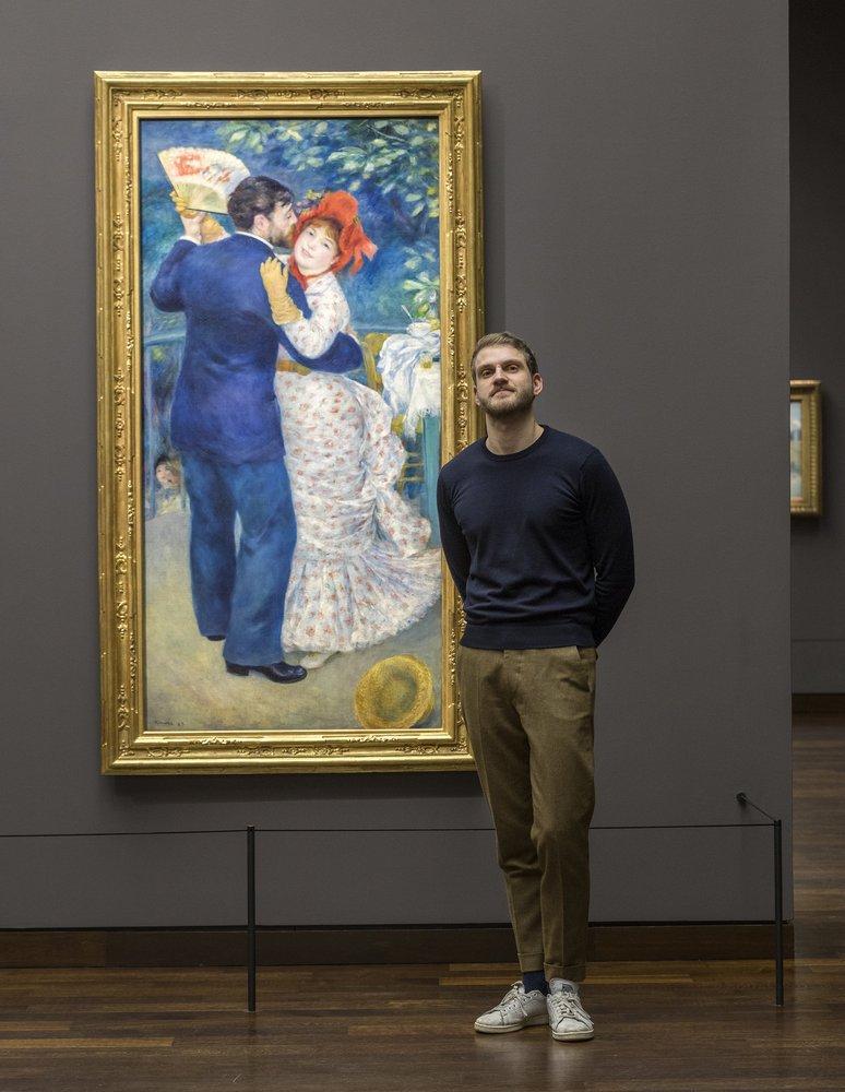 Jeudi, la #CurieuseNocturne donne la parole à notre conservateur @paulperr1 pour une 'Rencontre inspirante' intitulée 'Renoir mères et filles ?'. Rdv à 20h30 dans l'auditorium. Entrée gratuite pour les moins de 26 ans.