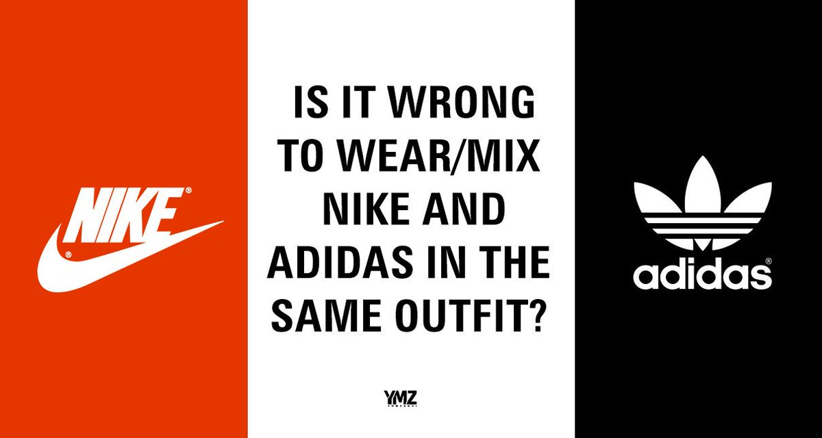 is it ok to mix nike and adidas