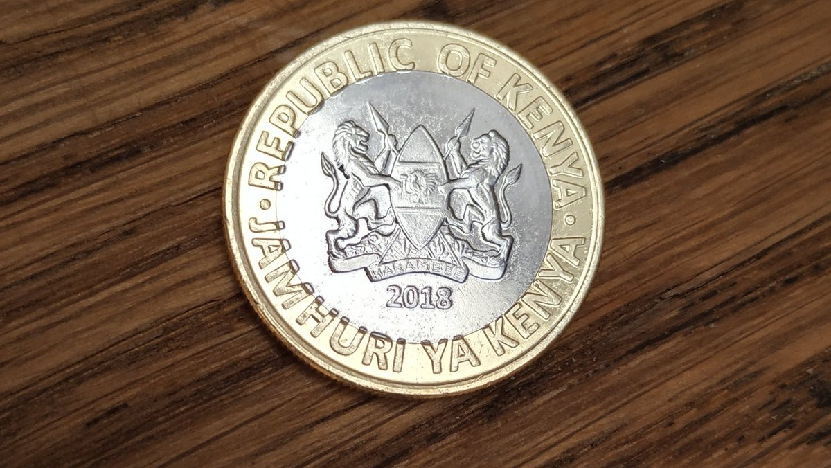 Met the new 10 shilling coin. OCD galore. They had one job...