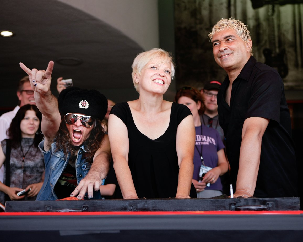 The Guitar Center family is saddened to learn about the passing of Lorna Doom – bassist for LA punk icons The Germs. We were honored to have Lorna join us for our Rock Walk ceremony at our Hollywood store celebrating The Germs in 2008. Our thoughts are with her friends & family.
