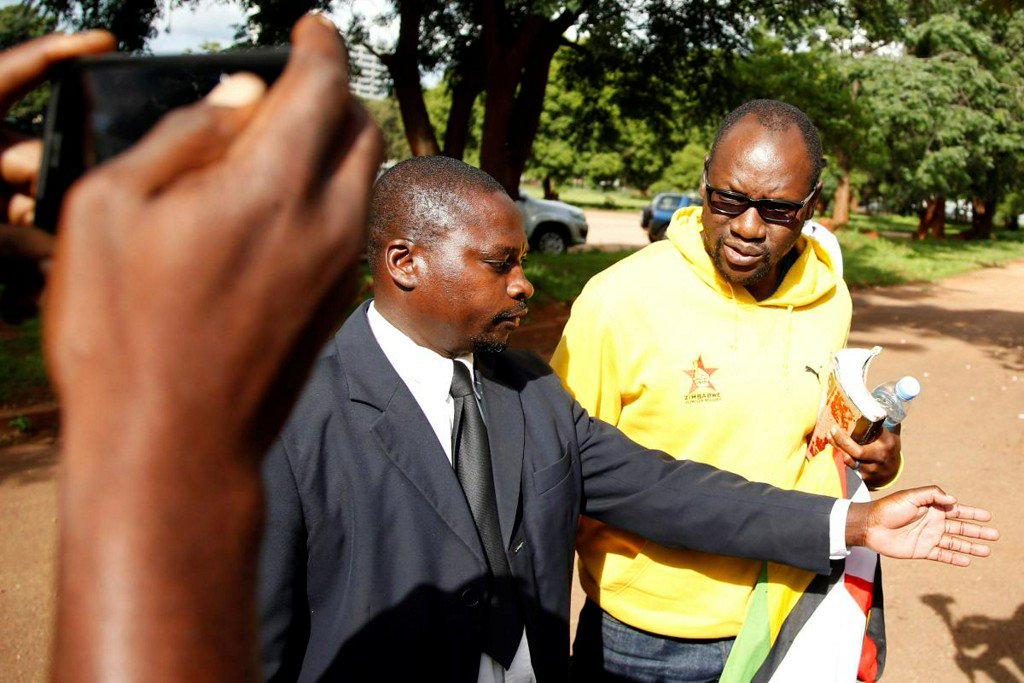 Zimbabwe court rules pastor Mawarire to stand trial for subverting government https://reut.rs/2TUXCe8
