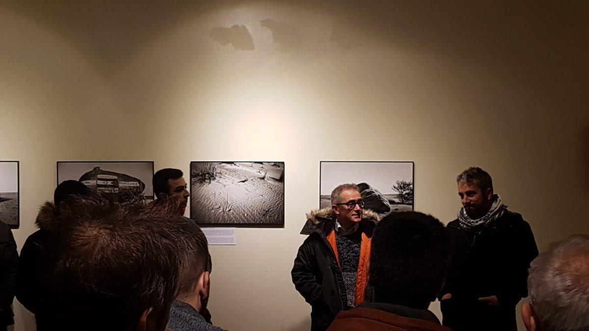 """[EUS] """"Sahara,40 urteko exilioa"""" Juan de Lizarazu aretoan [CAS] Inauguración de """"Sahara un exilio de 40 años """" 📷 #erakusketa  #sahara #urretxu #erakusketa #argazkilaritza #exposicion #fotografia #cultura #arte"""