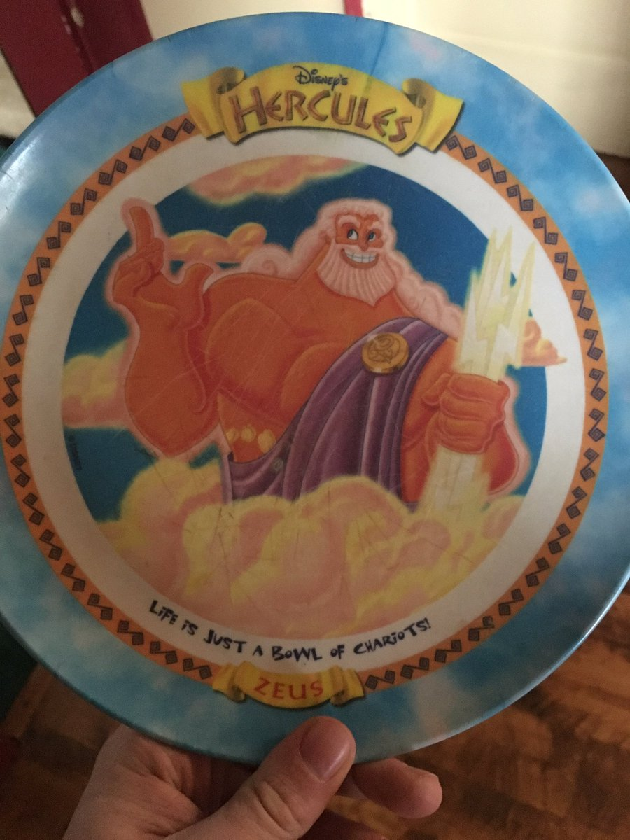 Trying to prove a point. RT if you ever had one of the Hercules plates from McDonalds.