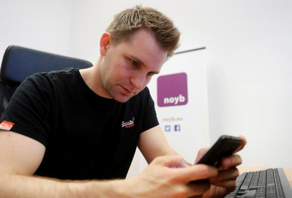 Austrian data privacy activist files complaint against Apple, Amazon, others https://reut.rs/2DkG2eq