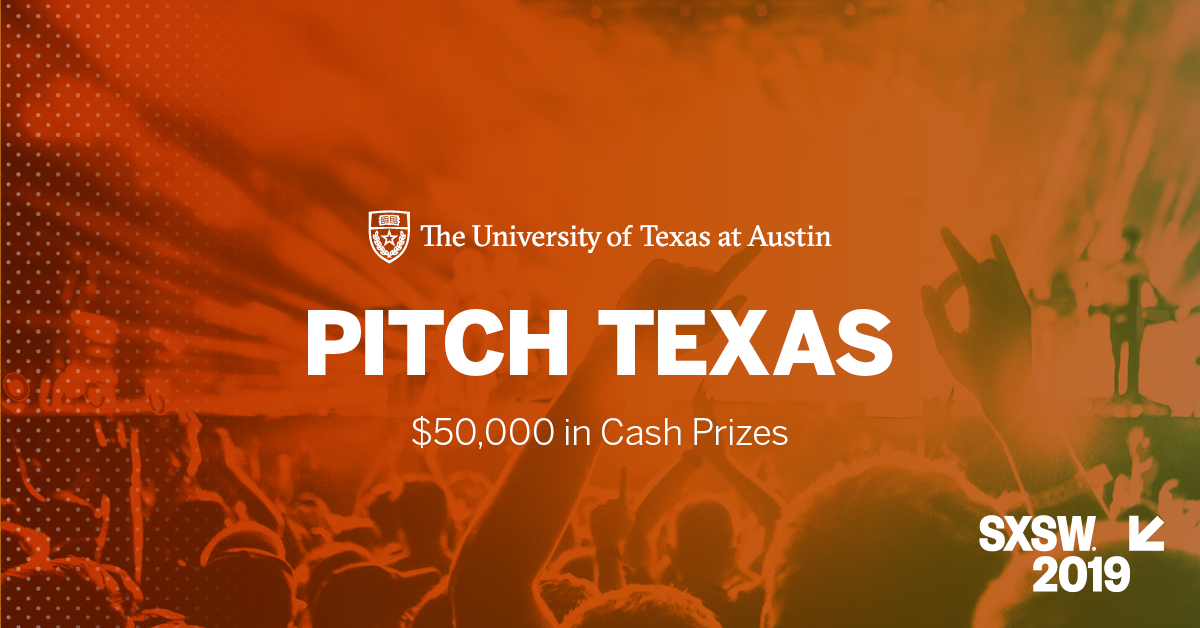 📢📢 Calling all graduate student startup teams - One week left to apply for #PitchTX2019! Pitch your idea at @SXSW, enter now: https://utex.as/2VFv3TQ  (CC @ATI_UT @UTexasMcCombs @TXVentureLabs @UTexasMSTC @IC2Institute @BobMetcalfe @Hugh_W_Forrest @CapitalFactory @TechCrunch)
